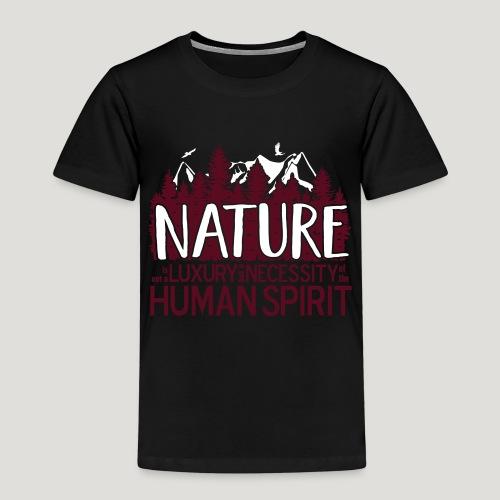 Nature is not a luxury ... für Naturliebhaber! - Kinder Premium T-Shirt