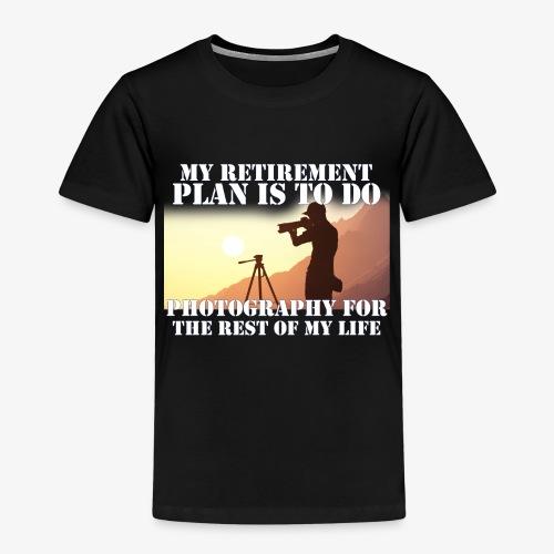 Retired Photographer - Kids' Premium T-Shirt