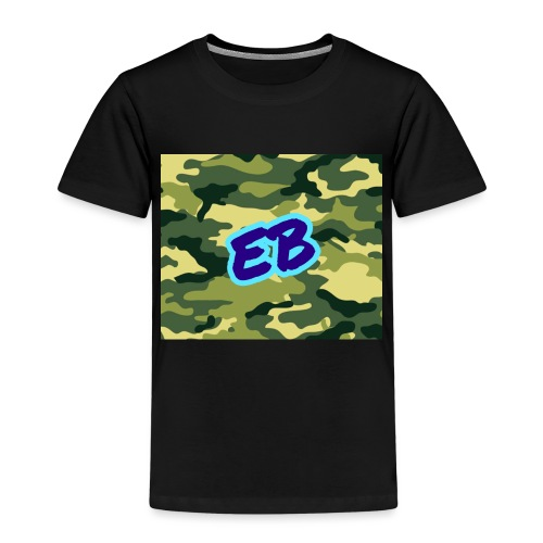 Ellibradyoffical green camo - Kids' Premium T-Shirt