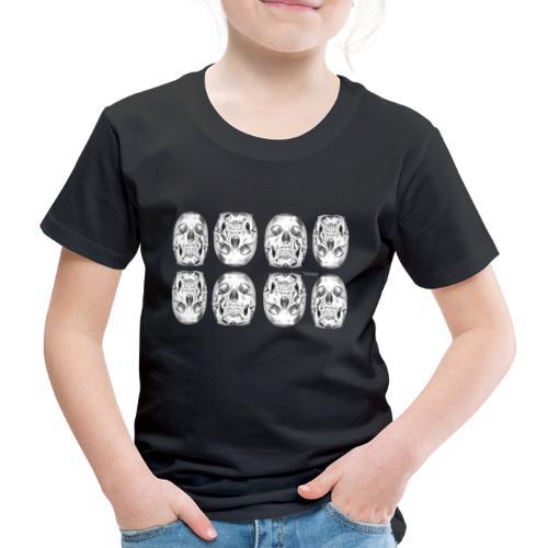 Chrome Skulls - Kids' Premium T-Shirt