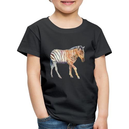Zebra grants - Børne premium T-shirt