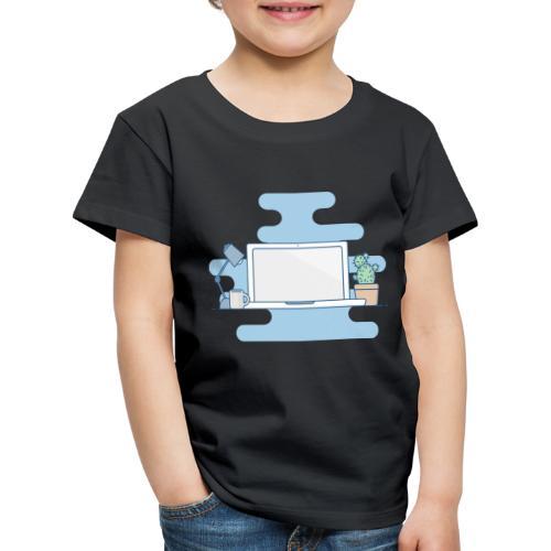 Arbeitstisch - Kinder Premium T-Shirt