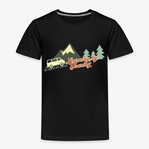Learning by Touring - Kinder Premium T-Shirt