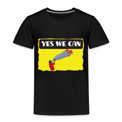 Yes, we can! - tear / Equivoco- strappo - Maglietta Premium per bambini