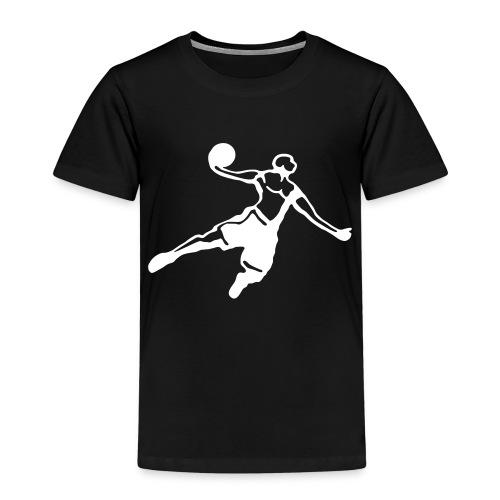 Basketball Dunk Player - Kinder Premium T-Shirt