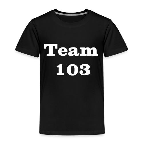 Team 103 en blanc - T-shirt Premium Enfant