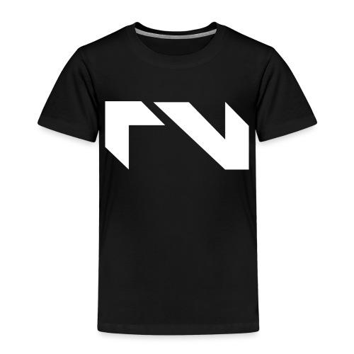 Logo white png - Kinderen Premium T-shirt