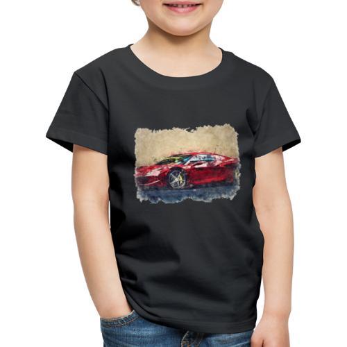 Ferrari - Maglietta Premium per bambini