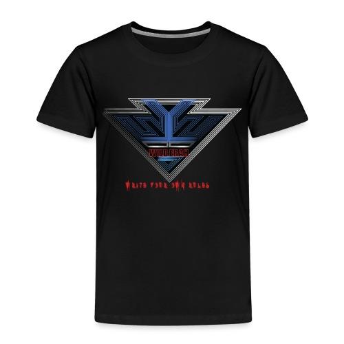 Wild Erah Logo BLACK NAVYBLUE png - Kids' Premium T-Shirt