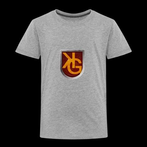 KG logo - Lasten premium t-paita