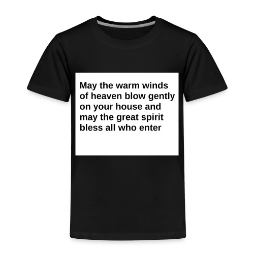 May the Warm Winds - Kids' Premium T-Shirt