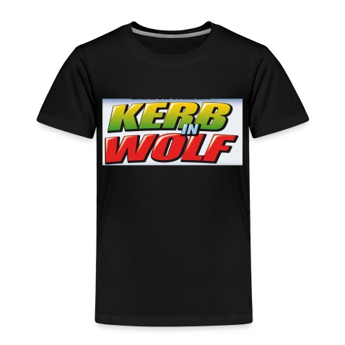 Logo Kerb in Wolf 3 - Kinder Premium T-Shirt
