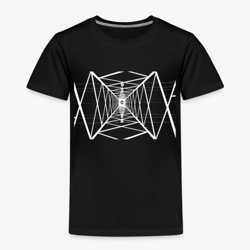 Quermast V2 Weiß - Kinder Premium T-Shirt