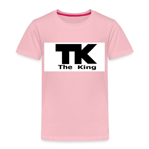 The King med ram - Premium-T-shirt barn