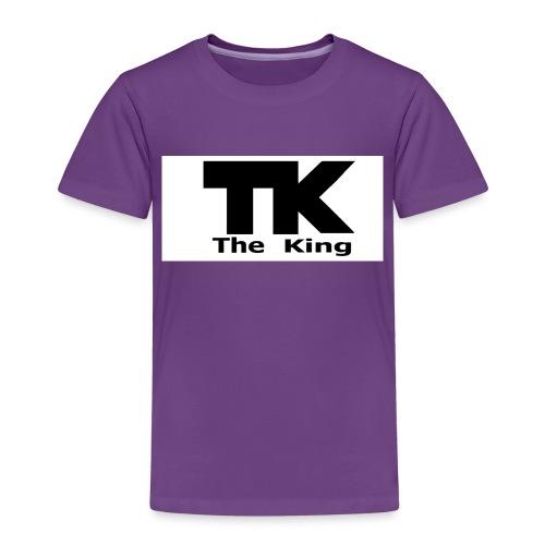 The King med ram - Premium-T-shirt barn