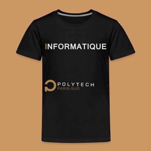 Motif Polytech jog info - T-shirt Premium Enfant