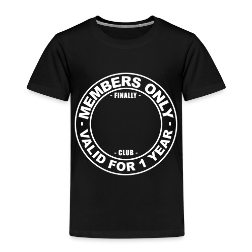 Finally XX club (template) - Kids' Premium T-Shirt
