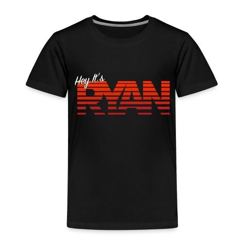Hey It's Ryan! Red Fade - Kids' Premium T-Shirt