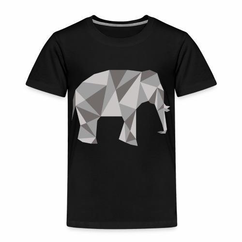 elephant géométrique - T-shirt Premium Enfant