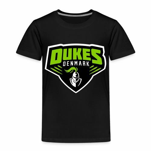 DukesDenmark 2017 hættetrøje sort/hvid logo - Børne premium T-shirt