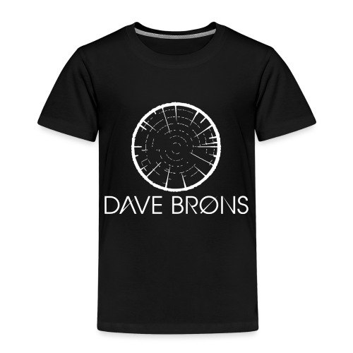 Dave Brons T Shirts logo design - Kids' Premium T-Shirt
