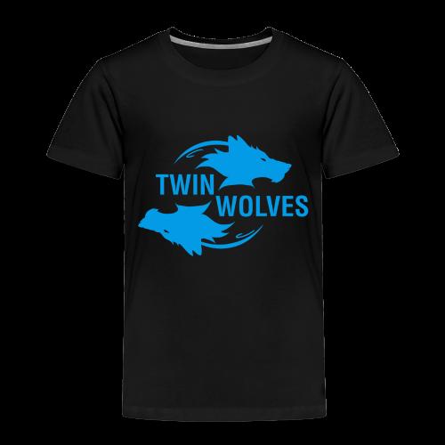 Twin Wolves Studio - Maglietta Premium per bambini
