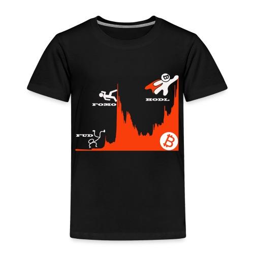 T shirt crypto Hodl - Kinderen Premium T-shirt