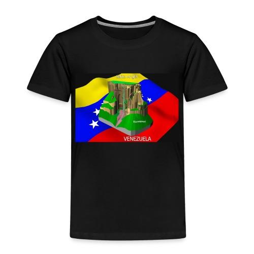 Salto Angel 3D - Camiseta premium niño