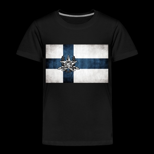 Suomen lippu - Lasten premium t-paita