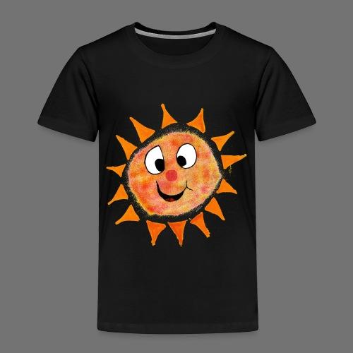 Aurinko - Lasten premium t-paita