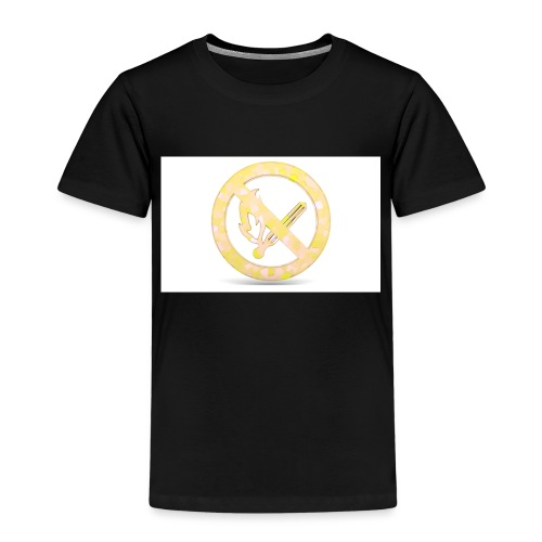 Feuerverbot gelb - Kinder Premium T-Shirt