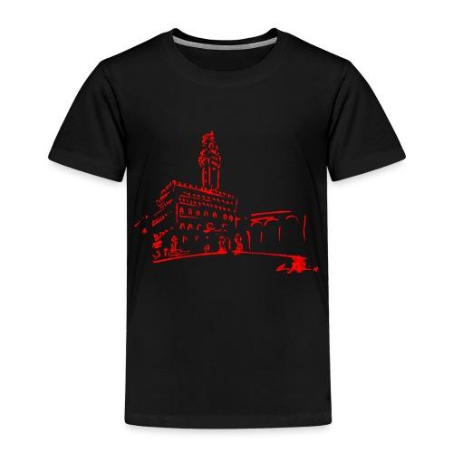 FIRENZE, PIAZZA DELLA SIGNORIA, PALAZZO VECCHIO - Maglietta Premium per bambini