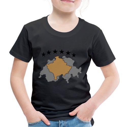 Kosovo Schweiz - Kinder Premium T-Shirt