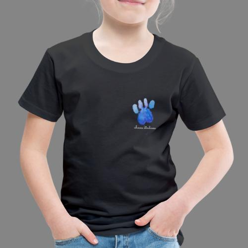 Tierfreund Choose Kindness Hundepfote Wasserfarben - Kinder Premium T-Shirt