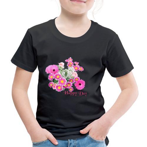 Happy Day Blumen - Kinder Premium T-Shirt