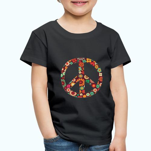 Flowers children - peace - Kids' Premium T-Shirt
