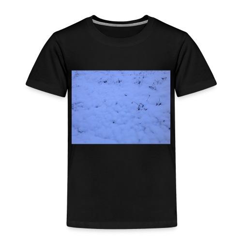 Deksel med vinterbilde - Premium T-skjorte for barn