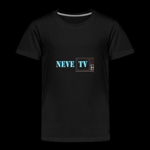 Kaffi koppen (stort motiv) - Premium T-skjorte for barn