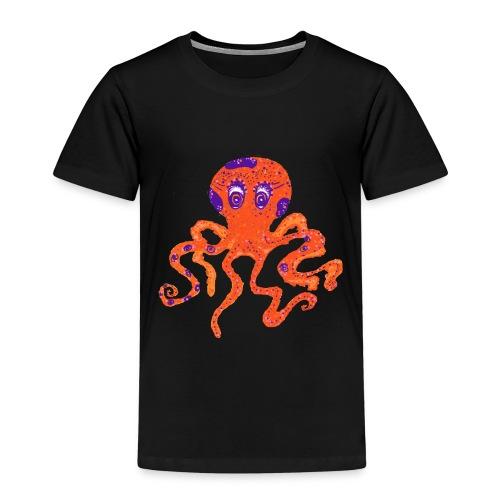 octopus 1 png - Kids' Premium T-Shirt