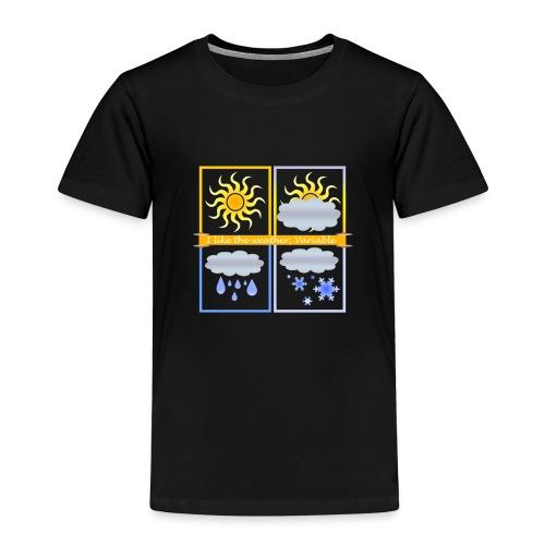 Clima Variabile - Maglietta Premium per bambini
