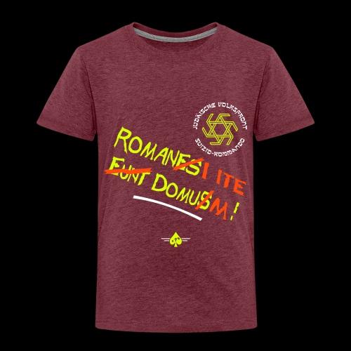 Volksfront (3col) - Kinder Premium T-Shirt