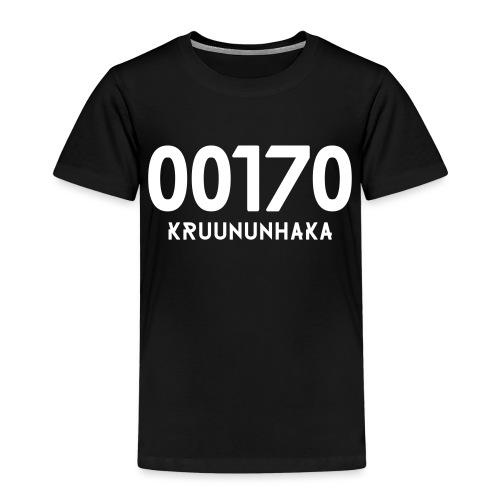 00170 KRUUNUNHAKA - Lasten premium t-paita
