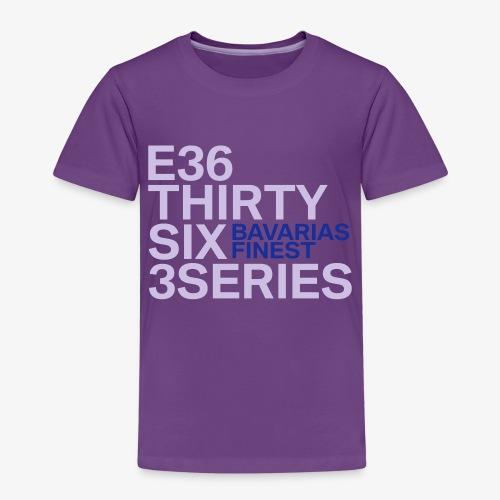 BMW E36 Series - Kinder Premium T-Shirt
