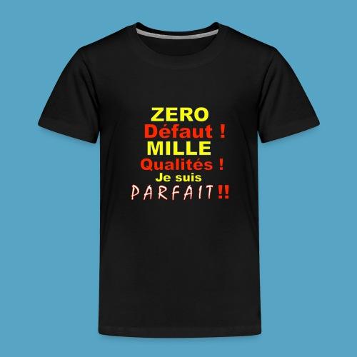 ZERO DEF PHOT .png - T-shirt Premium Enfant