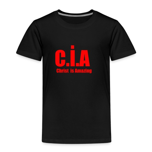 C.i.A Christ is Amazing - Kinderen Premium T-shirt