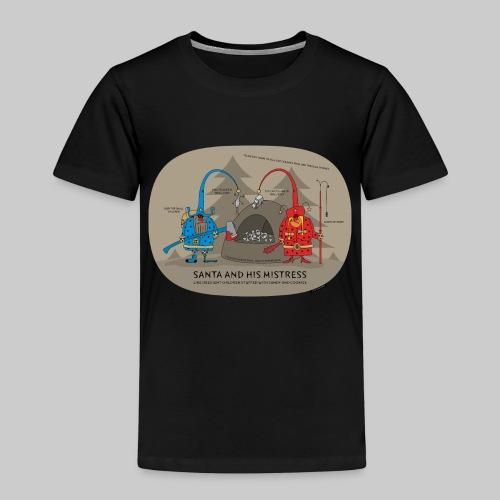 VJocys Santa Blue - Kids' Premium T-Shirt