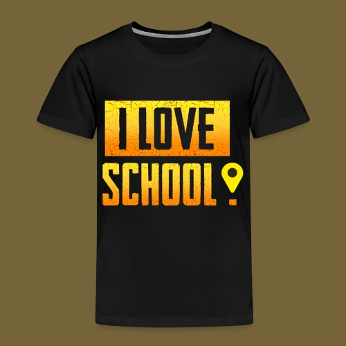 i love school - Kinder Premium T-Shirt