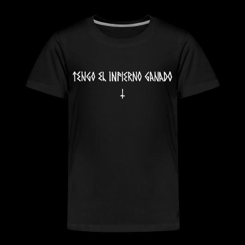 AjusxtTRANSPAinfiernoganadoBlackSeriesslHotDesign - Kids' Premium T-Shirt