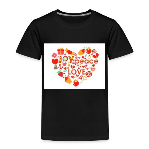 Love Peace Joy - Kids' Premium T-Shirt