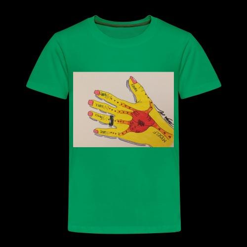 9D8D600F D04D 4BA7 B0EE 60442C72919B - Børne premium T-shirt